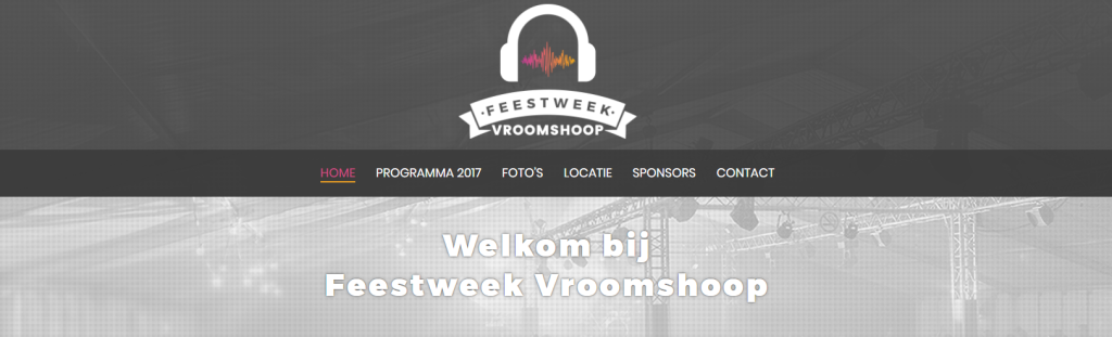 Screenshotnieuwewebsite